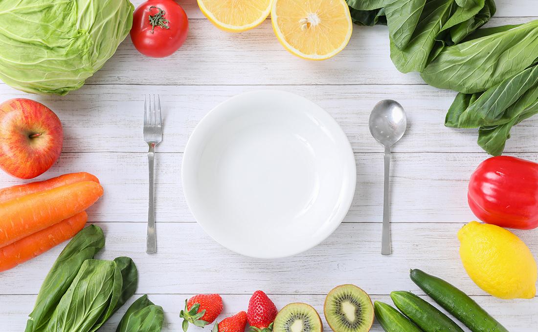 """食事管理を中心とした<br>""""健康ダイエット"""""""
